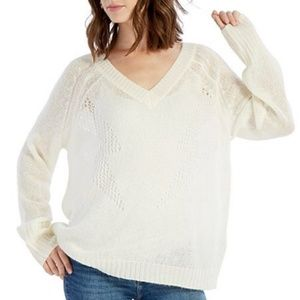 NWT WILDFOX Christie High Voltage Sweater L